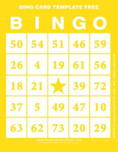 Bing Card Template Free 3