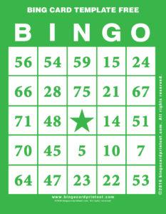 Bing Card Template Free 4