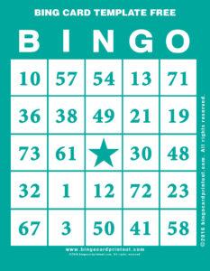 Bing Card Template Free 5