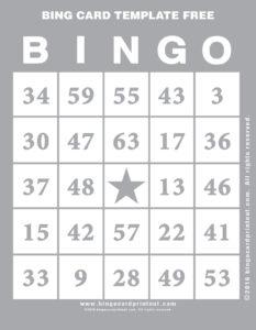 Bing Card Template Free 9