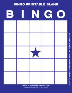 Bingo Printable Blank 6