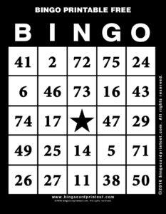Bingo Printable Free 11