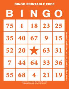 Bingo Printable Free 2