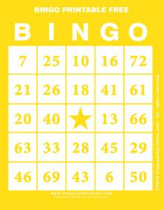 Bingo Printable Free 3