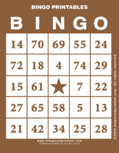 Bingo Printables 10
