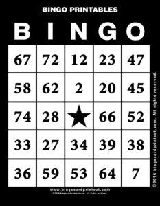 Bingo Printables 11