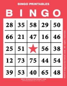 Bingo Printables 12