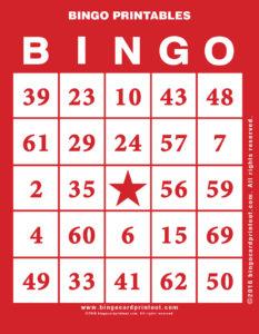 Bingo Printables