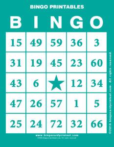 Bingo Printables 5