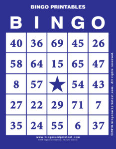 Bingo Printables 6