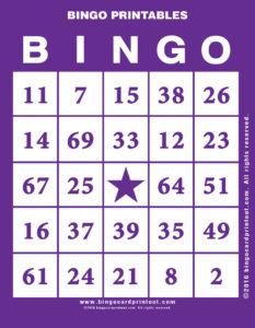 Bingo Printables 7