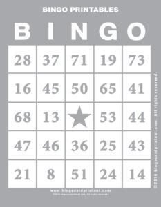 Bingo Printables 9