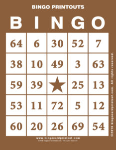 Bingo Printouts 10