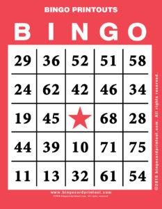 Bingo Printouts 12