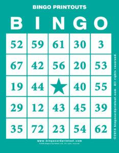 Bingo Printouts 5