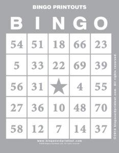 Bingo Printouts 9