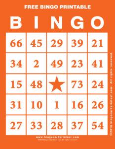 Free Bingo Printable 2