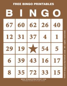 Free Bingo Printables 10