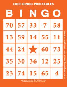 Free Bingo Printables 2