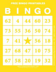 Free Bingo Printables 3