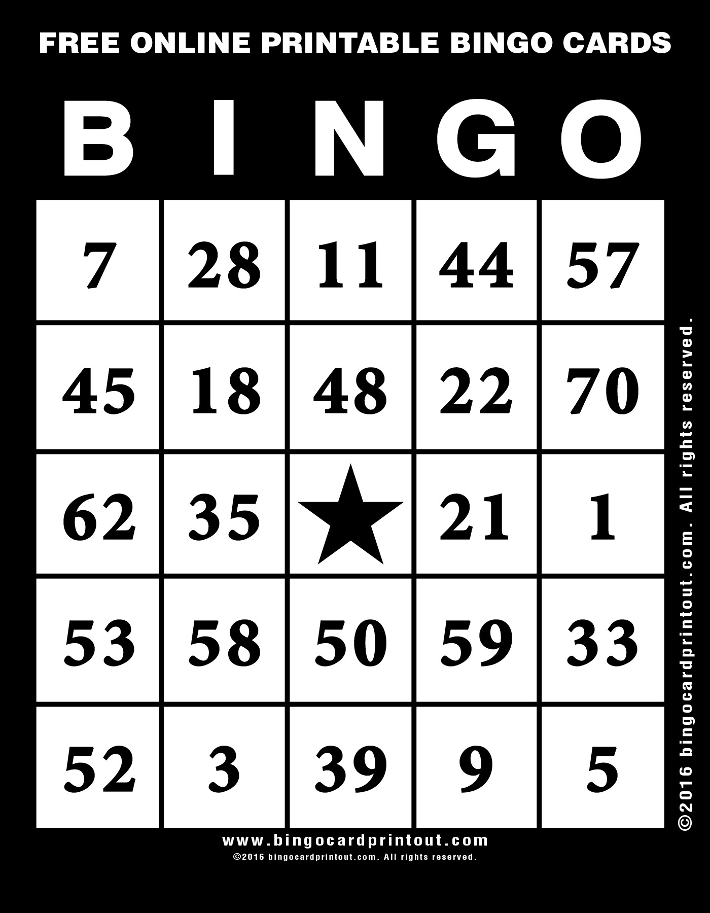 Bingo card printable bingoraindanceirrigation bingo card printable spiritdancerdesigns Choice Image