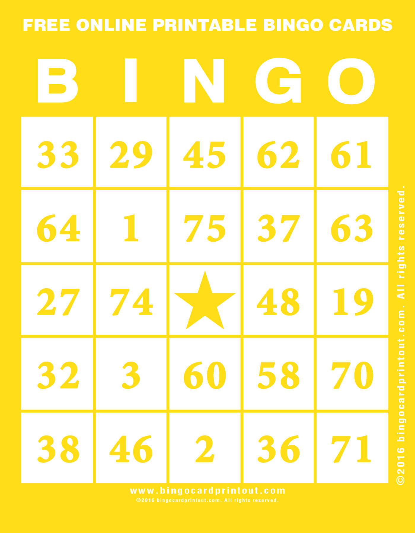 picture about Printable Bingo Cards 1-90 called Bingo Playing cards In direction of Print For Totally free With Quantities