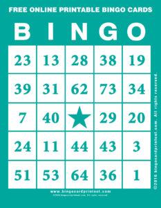 Free Online Printable Bingo Cards 5