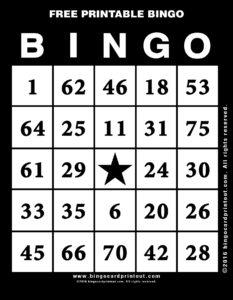 Free Printable Bingo 11