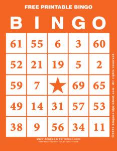 Free Printable Bingo 2