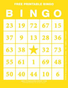 Free Printable Bingo 3