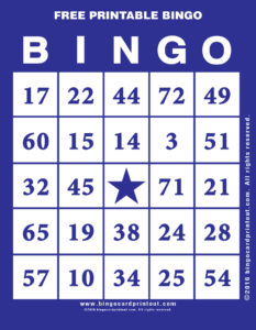 Free Printable Bingo 6