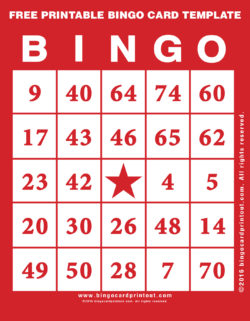 Printable Bingo Cards Archives Page 4 Of 6 Bingocardprintout Com