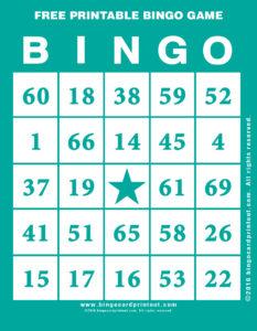 Free Printable Bingo Game 5