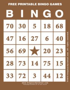 Free Printable Bingo Games 10