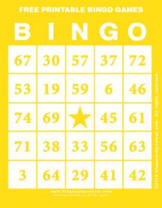 Free Printable Bingo Games 3