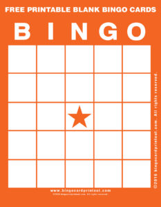 Free Printable Blank Bingo Cards 2