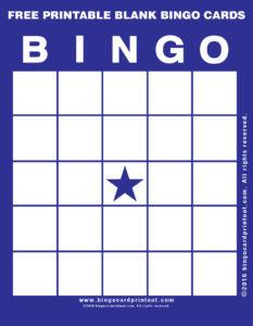 Free Printable Blank Bingo Cards 6
