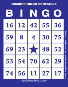 Number Bingo Printable 6