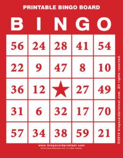 Printable Bingo Board