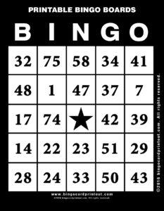 Printable Bingo Boards 11