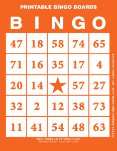Printable Bingo Boards 2