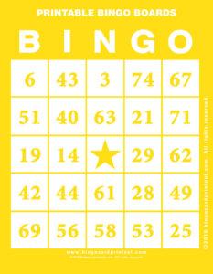 Printable Bingo Boards 3