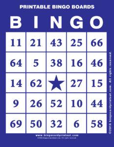 Printable Bingo Boards 6