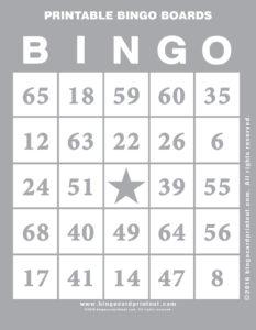 Printable Bingo Boards 9