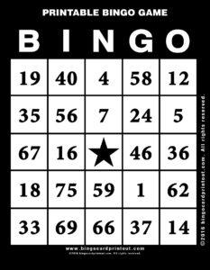 Printable Bingo Game 11