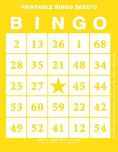 Printable Bingo Sheets 3